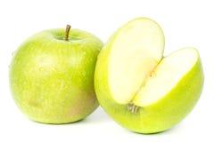 - zielony white jabłko obrazy royalty free