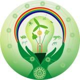 zielony świat Fotografia Stock