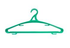 zielony wieszak zdjęcia stock