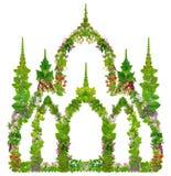 Zielony wiosna meczetu pojęcie obrazy stock