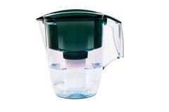 Zielony wodny filtr Fotografia Royalty Free
