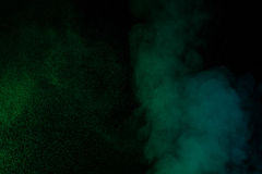Zielony wodny opary Obrazy Stock