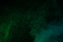 Zielony wodny opary Zdjęcie Stock