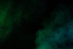 Zielony wodny opary Zdjęcie Royalty Free