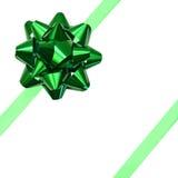zielony wstążki Fotografia Stock