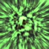 Zielony wybuch Obrazy Royalty Free