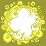 zielony wzór ilustracji