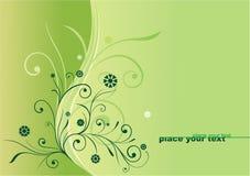 zielony wzór Zdjęcia Stock