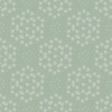 Zielony wzór z lekkimi ornamentami fotografia royalty free