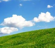 zielony wzgórze Zdjęcie Stock