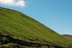zielony wzgórze Zdjęcie Royalty Free