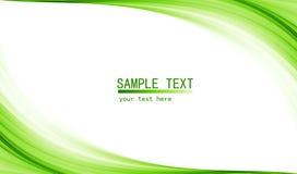Zielony zaawansowany technicznie abstrakcjonistyczny tło Obrazy Stock