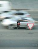 zielonych świateł czerwony ruch drogowy kolor żółty Obraz Royalty Free