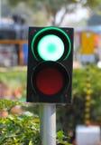 zielonych świateł czerwony ruch drogowy kolor żółty Zdjęcia Stock