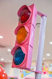 zielonych świateł czerwony ruch drogowy kolor żółty Fotografia Stock