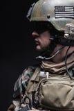 Zielonych beretów żołnierz Zdjęcia Royalty Free