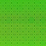 Zielonych fala okregów tło Fotografia Royalty Free