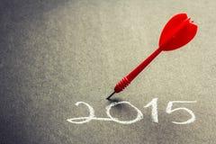 Zielplan 2015 Lizenzfreie Stockbilder