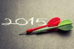 Zielplan 2015 Stockbilder
