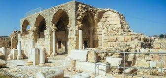 Ziemi Święta serie - Eleutheropolis Beit Guvrin park narodowy Obrazy Royalty Free