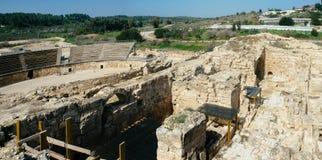 Ziemi Święta serie - Eleutheropolis Beit Guvrin park narodowy Zdjęcie Royalty Free