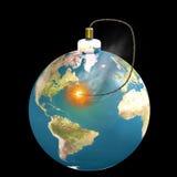 ziemi czas projekcji ilustracja wektor