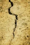 ziemi krekingowa powierzchnia Zdjęcie Stock