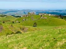 Ziemi uprawnej krajobrazowej sceny Hawke Podpalany Nowa Zelandia Fotografia Stock