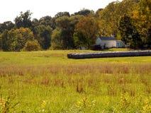 ziemi uprawnej pola siano Virginia Zdjęcie Royalty Free