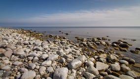 Ziemia costal widok zdjęcia stock