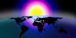 ziemia globe świat ilustracja wektor