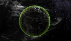 Ziemia i wszechświat Zdjęcia Royalty Free