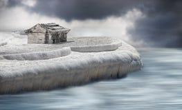 Ziemia lód Zdjęcie Royalty Free