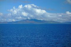 Ziemia na horyzoncie Zdjęcie Stock