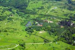 Ziemia od above Zdjęcia Stock
