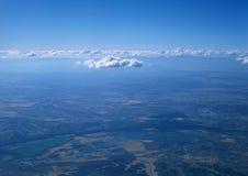 Ziemia od above Obrazy Royalty Free