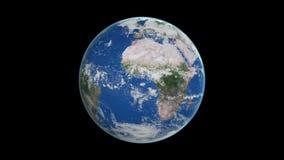 Ziemia od przestrzeni royalty ilustracja