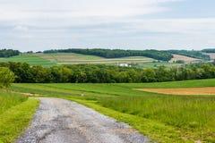 Ziemia uprawna Otacza William Kain parka w Jork okręgu administracyjnym, Pennsylva Obraz Stock
