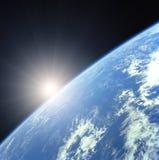 ziemia wschodzącego słońca Zdjęcie Stock