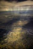 Ziemia złoto! Fotografia Stock