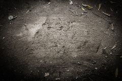 Ziemia zamiata z miotłą dla przestrzeni zdjęcia royalty free