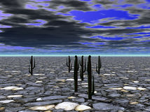 ziemia zdewastowana Zdjęcia Stock