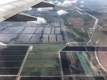 ziemie uprawne w południowym Floryda obraz stock