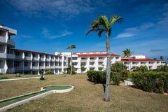 Ziemie zolu Cayo Coco łączny kurort W Cayo Coco, Kuba obraz royalty free
