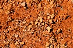 ziemska czerwień Zdjęcie Stock