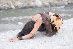 ziemska kobieta Zdjęcia Stock
