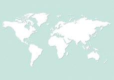 Ziemska mapa ilustracji
