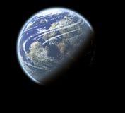 ziemska planeta Zdjęcie Stock