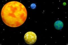 ziemska planeta Zdjęcia Stock