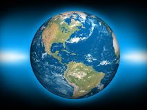 ziemska planeta royalty ilustracja